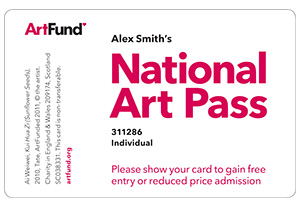 National Art Pass Card