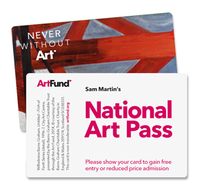 National Art Pass, from the Art Fund